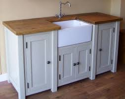 image of free standing kitchen sink style