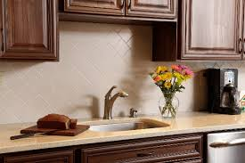 kitchen with full routed corian backsplash the 4 inch