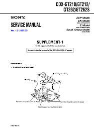 sony cdx gt210, cdx gt212, cdx gt262, cdx gt262s, cxs gt2113 Sony Cdx Gt210 Wiring Diagram cdx gt210, cdx gt212, cdx gt262, cdx gt262s service sony cdx gt200 wiring diagram