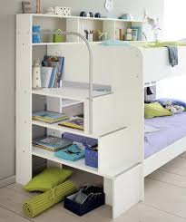 shelf bed kids avenue 2 white bunk bed with shelves floating shelf bed bath and beyond