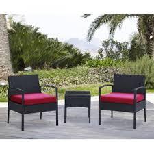 Patio 3 Piece Patio Set Under 100  Patio Furniture Kmart Three Piece Outdoor Furniture