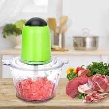<b>2L</b> Automatic <b>Powerful Electric</b> Meat Grinder Multifunctional <b>Food</b> ...