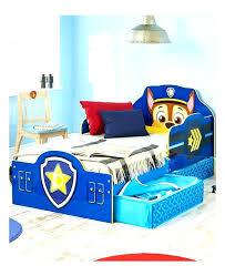 blue toddler bedding set