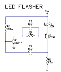 electrical circuits and wiring diagrams images wiring very simple 2 transistor led flasher circuit tech stuff