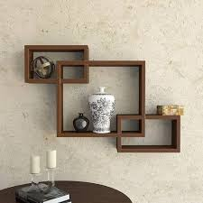 rectangular square wooden wall mounted