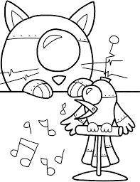 Cool Robot Coloring Sheets Design 379