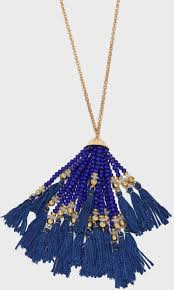product images gallery seed bead tassel pendant necklace