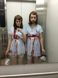 Exceptional The Office Halloween Costumes. Horror Inspired Couple Makeup