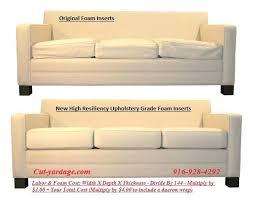 sofa cushions foam custom couch cushion in calgary alberta canada