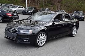 black audi a4 2013. Perfect Black BLACK ON CHESTNUT BROWNBLACK W WOODGRAIN INTERIOR TRIM  NAVIGATION SYSTEM  PARK ASSIST BACKUP CAMERA HID HEADLIGHTS With Black Audi A4 2013