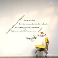 wall decals marilyn monroe spiritual quotes sayings for lovers by wall  spiritual quotes sayings for lovers