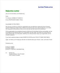 Rejection Letter Sample - 10+ Free Word, Pdf Documents Download ...