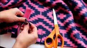 4 different ways to tie a fleece blanket - YouTube &  Adamdwight.com