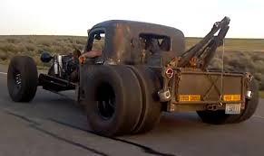 rat rod tow truck rat rod city