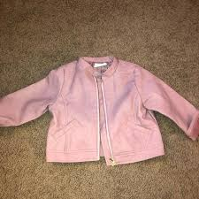toddler pink leather jacket m childrens