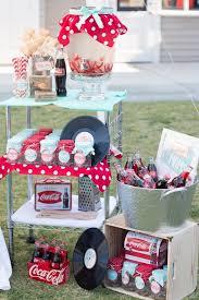 Retro Diner Themed Mother's Day Party via Kara's Party Ideas |  karaspartyideas.com