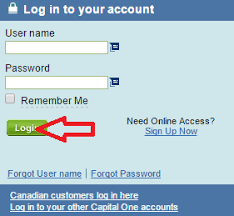 Capital One Credit Cc Bank Login Access Your Account To Make A