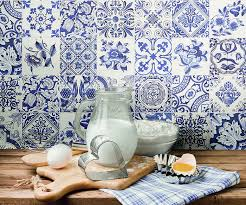 Blue And White Decorative Tiles How to decorate with blue and white tiles 20