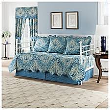 Daybed Covers, Daybed Quilts & Bedding Sets - Bed Bath & Beyond & image of Waverly Moonlit Shadows Reversible Daybed Quilt Set in Lapis Adamdwight.com