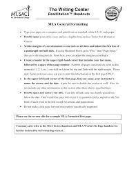Mla Proper Heading Mla Format Essay Heading Writing Tricks Proper For Scholarship
