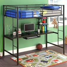 storage loft bed with desk um size of bed with desk and storage loft bed with