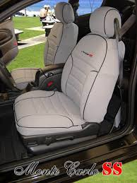 chevrolet monte carlo full piping seat