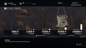 For Honor Gear Chart Season 3 For Honors Max Gear Level Requires 240 Games Or 10