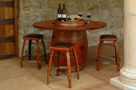 wood barrel furniture. Outdoor Wine Barrel Table Immense Furniture At American Country Home Store Ideas 21 Wood