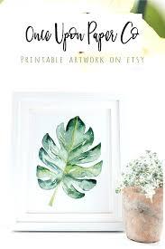 fascinating best herb wall art beautiful leaf botanical wall art print tropical and beautiful image design