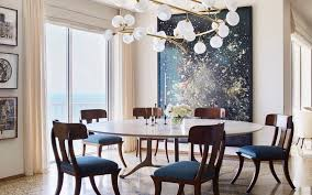 Zimmerman lighting Soda Glass Gulf Coast Penthouse Designed By Suzanne Lovell Features Ori Gershts Blow Up 7 And Jeff Zimmerman Light Fixture Galerie Magazine Suzanne Lovells Masterful Art And Design Tips