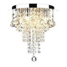 formidable ruby modern chandelier style light for low ceilings flush mount crystal chandelier lighting