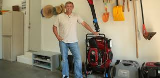 lawn mower garage storage. Allen Lyle In Organized Garage With Toro SmartStow Lawn Mower Throughout Storage