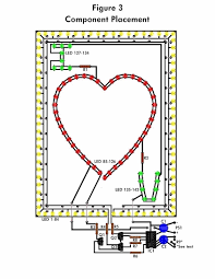 led circuit diagrams info led flashing heart schematic design wiring circuit