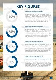 Simple Annual Report Template By Hossaine Graphicriver