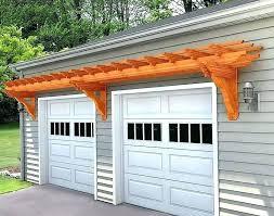 garage door trellis easy plans trellis over garage doors door pictures of small pergola garage door