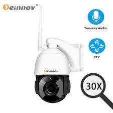 Einnov 4XZoom <b>1080P 2MP</b> PTZ IP Camera <b>CCTV</b> Home Wireless ...