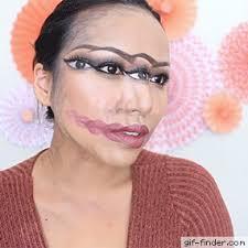 confusing 4 face makeup