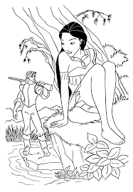 Small Picture Pocahontas coloring pages movie ColoringStar