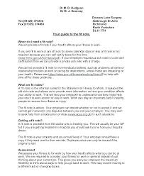 Copy Of A Doctors Note 15 Sample Doctor Note Resume Statement