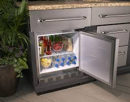 Outdoor Kitchen Refrigerator The Only Thing Your Grill Needs Is An Outdoor Refrigerator To Go