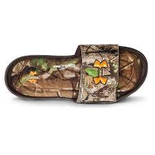 under armour 4d foam slides. men\u0027s under armour® ignite camo ii sandals, realtree ap® / timber hunter armour 4d foam slides
