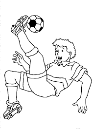 Small Picture Soccer Coloring Pages For Boys Coloring Coloring Pages