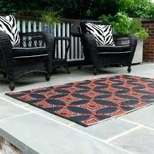 recycled material rugs black outdoor mat large plastic