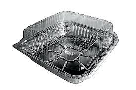 9 inch square baking pan 9 square cake foil pan w clear dome lid 9x9 square 9 inch square baking pan