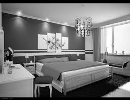 Small Black And White Bedroom Small Bedroom Wall