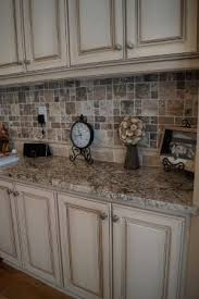 Exactly What I Want  Cabinets Refinished To A Custom Off White Finish With  Heavy. Kitchen RedoKitchen IdeasKitchen ...
