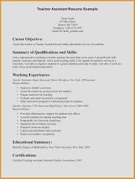 Teacher Aide Resume Beneficial Teacher Assistant Resume Teacher