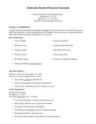 new grad resume format