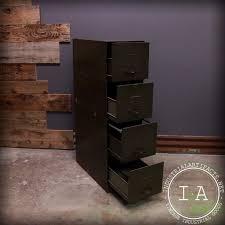 Convert Cabinet To File Drawer Vintage Steel 4 Drawer Modular Remington Rand File Cabinet