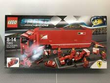 Lego racers 8654 scuderia ferrari truck for more videos please subscribe : Buy 75913 Speed Champions F14 T Scuderia Ferrari Truck F14 T Et Son Camion Scuderia Ferrari Lego Toys On The Store Auctions Best Deals At The Lowest Price